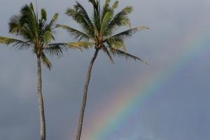 Rainbow over Poipu